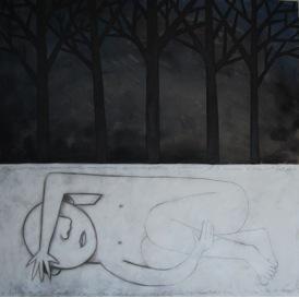 Mes nuits sans lune, oeuvre d'Éric Godin